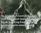 Kanye Will Let Godzilla Finish