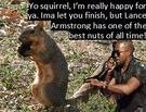 Kanye Will Let a Squirrel Finish