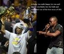 Kanye West Will Let Kobe Finish